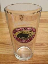 "Est 1759 Guinness Foreign Extra Stout - Badger Brand Hamburg 6"" Beer Glass"