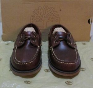 New Timberland #25077 6.5 M rootbeer (6649)