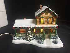 John Deere Thomas Kinkade Hawthrone Village Lighted Deer Creek Restaurant