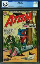 Atom #14 CGC 6.5 -- 1964 -- Revolt of the Uniform. Murphy Anderson #2033844010