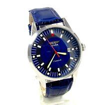 Poljot Aviator mens wrist watch Calendar 17 Jewels USSR RARE Serviced & oiled