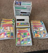 Vintage 1987 Smart Start Interactive Learning Machine 8 Books Instructions