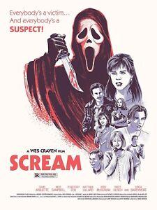 1996 Scream Ghostface Killer Everybody's A Victim... > Woodsboro 🔪💀🔪