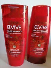 L'OREAL Paris ELVIVE COLOR VIBRANCY Protecting Shampoo & Conditioner 12.6 fl oz