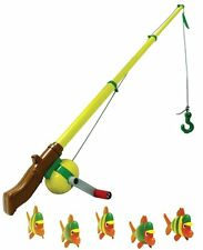 NEW John Deere Electronic Sounds Fishing Rod with 5 Fish, Ages 4+ (TBEK35073)