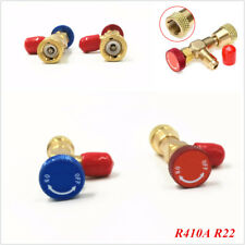 """R22 R410A Air Conditioning Refrigeration Charging Adapter For 1/4"""" Safety Valve"""