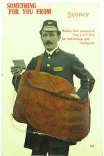.SCARCE EARLY 1900s SYDNEY, AUSTRALIA FOLDOUT POSTCARD. 12 PICTURES, VALENTINE.