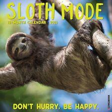 Sloth Mode 2021 Wall Calendar (Free Shipping)