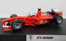 1/43 Mattel Hot Wheel Racing 2000 Ferrari F1-2000 #4 Rubens Barrichello 26749
