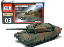 Takara Tomy Tomica Premium 03 JSDF Type 90 Tank Scale 1/124 Diecast Toy Car