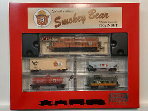 N scale Smokey Bear Train- Micro Trains MTL - Special Edition Forest Fires