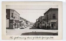 IDAHO SPRINGS: Colorado USA postcard (C10917)