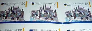 Bund Markenheftchen MH 48 a PFI - ESST Frankfurt-1000 Jahre Bautzen, 2002