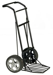 Dollhouse Miniature - Black Metal Moving Dolly, Dolies, Hand Truck - 1/12 Scale