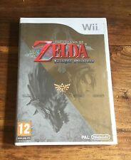 THE LEGEND OF ZELDA TWILIGHT PRINCESS Jeu Nintendo Wii Neuf Sous Blister VF