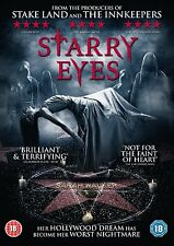 STARRY EYES di Kevin Kolsch DVD Horror in Inglese NEW .cp