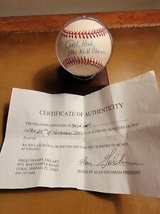 "Ralph Houk ""1961 World Champs"" New York Yankees Autographed Baseball"