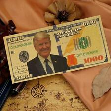 Trump commemorative Coin Trump Plastic Commemorative Banknote