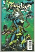 Poison Ivy #1 : 3-D Lenticular Cover :  November 2013 : DC Comics