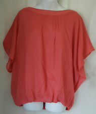WOMEN'S CORAL SHORT SLEEVED TOP SIZE UK 28 (WT05) BNWT