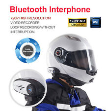 helmet Bluetooth Interphone+racing Video Recorder for Motorcycle Helmet recorder
