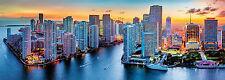 Trefl Panorama Puzzle 1000 Teile Miami in der Abendsonne (29027) Städte