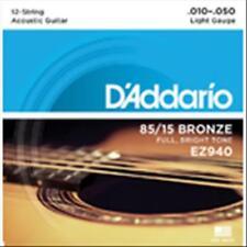 D'ADDARIO Muta per Chitarra Acustica 12 Corde 10/50 American Bronze Light