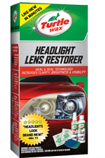 Turtle Wax T240KT Headlight Lens Restoration Kit Restores Dull Yellowing Lenses