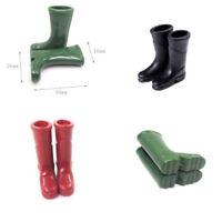 1/12Dollhouse Furniture Miniature Rubber Rain Boots LivingRoom Art FloorDecor 3C