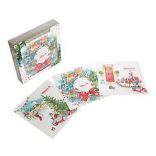 Paquete de tarjeta de parachoques de Navidad HALLMARK Lucy Cromwell-Paquete de 18