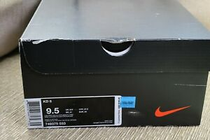 NIKE kd8 basketball shoes, men's US 9.5 new old stock original box Kevin Durant
