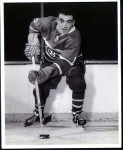 8 x 10 Vintage  Photo of Jean Guy Gendron Montreal Canadiens Photo very clear