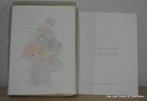 Precious Moments Christmas Cards & Envelopes 1990's PS 136-1 unused Box 20