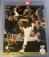 FERNANDO TATIS JR. Signed Topps Authentics 8x10 Photo, MLB COA, Padres Star