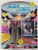1993 Playmates Star Trek Next Generation Klingon Warrior Worf Toy Action Figure