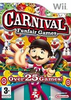 Carnival Fun Fair Games Brand New Sealed Wii Video Game