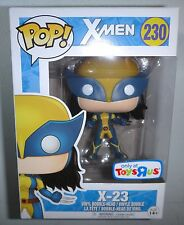 Funko Pop!: Marvel X-Men 2017 Toys 'R Us Exclusive X-23 (#230) Boxed / IN HAND