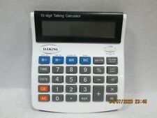 Talking Calculator Big Display Numbers 10 Digit LCD