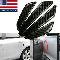 4X Carbon Fiber Car Side Door Edge Guards Protective Trims Stickers For BMW E90