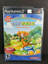 Konami Kids Playground Toy Pals Fun Numbers Playstation 2 PS2 Game Complete