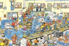 The Printing Office Jan van Haasteren 1500 Piece Cartoon Jigsaw Puzzle Jumbo JVH