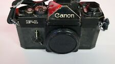 Canon NEW F-1  35mm  camera Body Only f/s with strap/ The Antique Old Camera