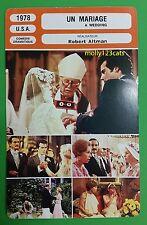 American Comedy A Wedding Lilian Gish Robert Altman French Film Trade Card