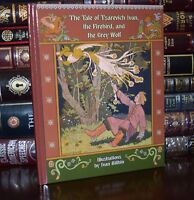 Tale of Tsarevich Ivan Firebird Russian Fairy Tales New Illustrated Hardcover ++
