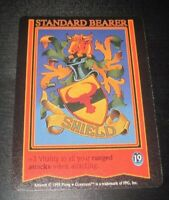 Guardians standard bearer shield trading card game tcg/ccg Rare 2 1995 ox