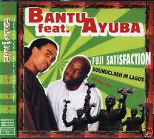 Bantu feat. Ayuba Fuji Satisfaction Japan CD+1VIDEO-NEW