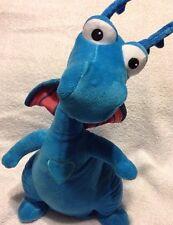 "Doc McStuffins Stuffy Talking Dancing Singing Light Up Plush Toy Blue Dragon 14"""