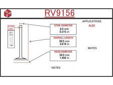 Engine Intake Valve ITM RV9156 fits 80-81 Audi 5000 2.2L-L5