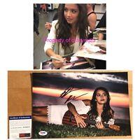 Isabela Moner Signed Transformers Dora The Explorer Autograph Auto PROOF PSA COA
