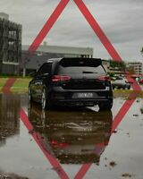 Volkswagen Golf Mk7.5 Reflector Overlay (GTI R TSI TDI)